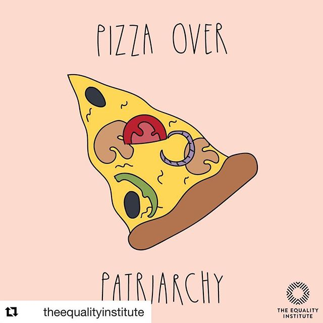 Pizza pizza! 📷 @theequalityinstitute