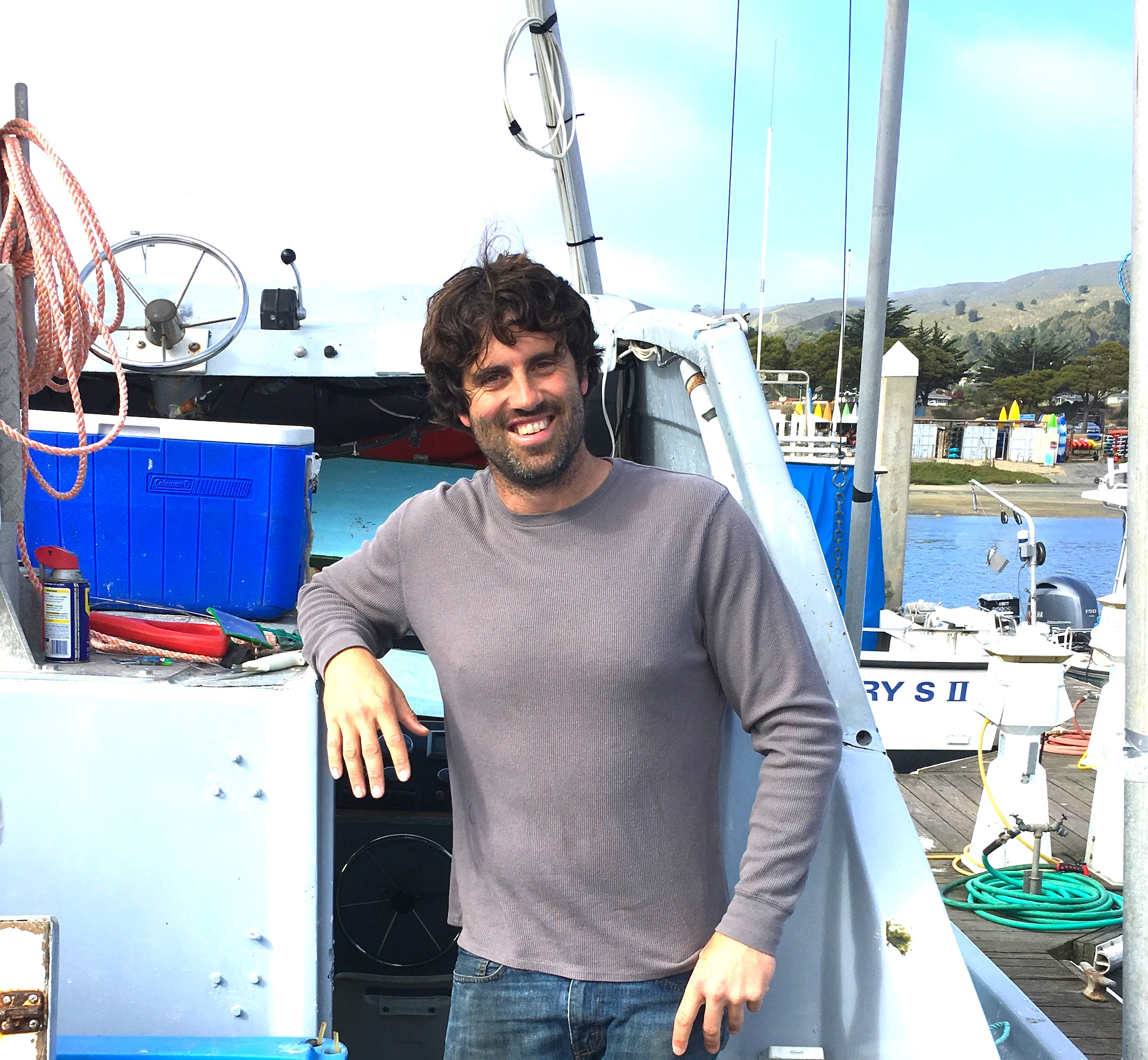 Commercial fisherman, Porter McHenry