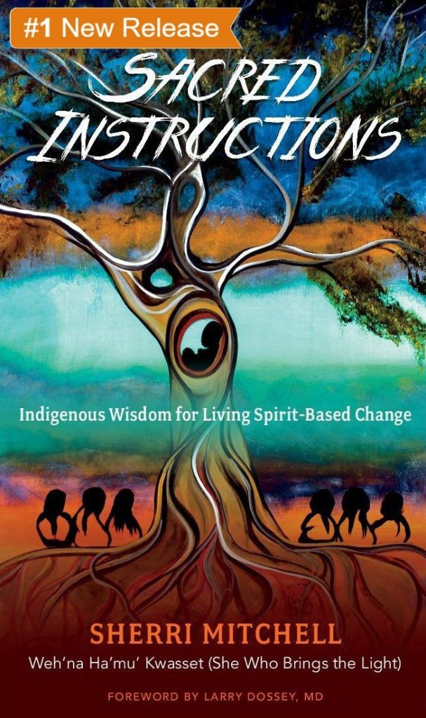 """""""We are part of a universe, a collection of individual notes in one continuous song; the song that sang all life into being...If we listen closely, we can hear this creation song echoing in our bones."""" - (p. 5) Sherri Mitchell, Sacred Instructions."""