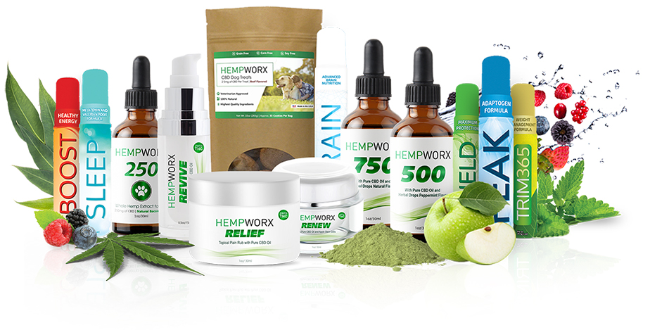 100% natural, full spectrum CBD products