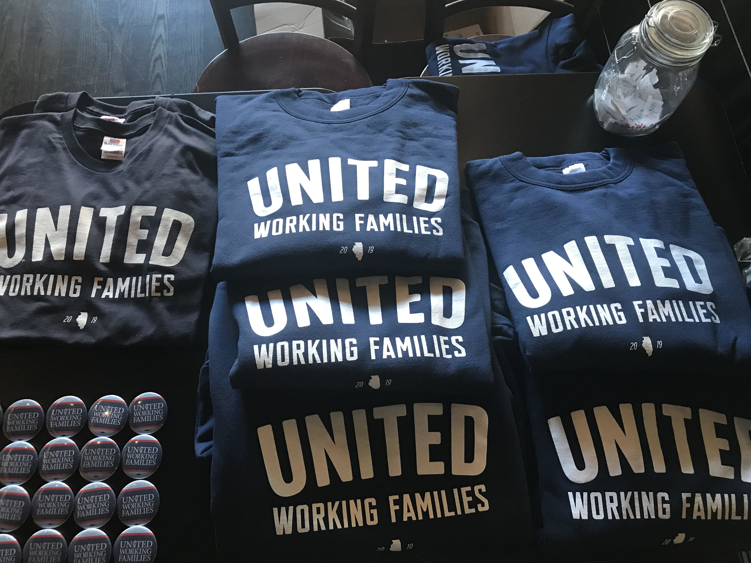 merchandise - Union-made in the USA.