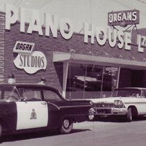 The original Piano House over 80 years ago.