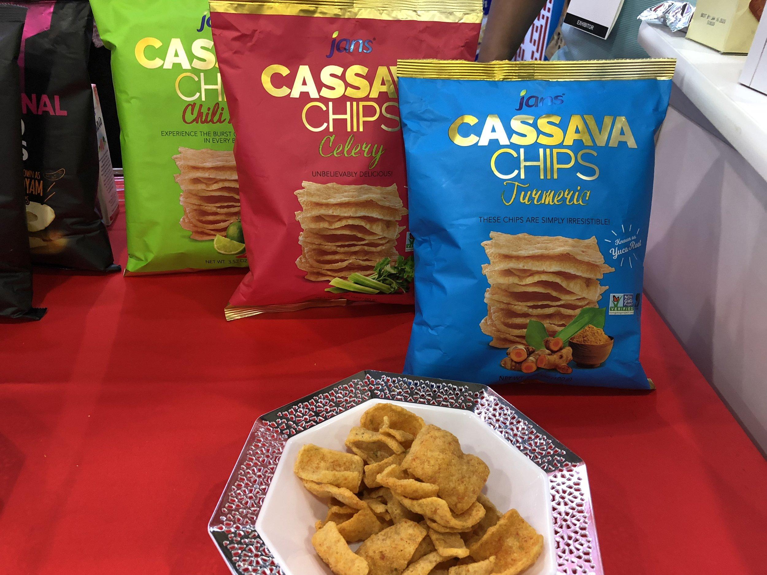 Cassava Snacks