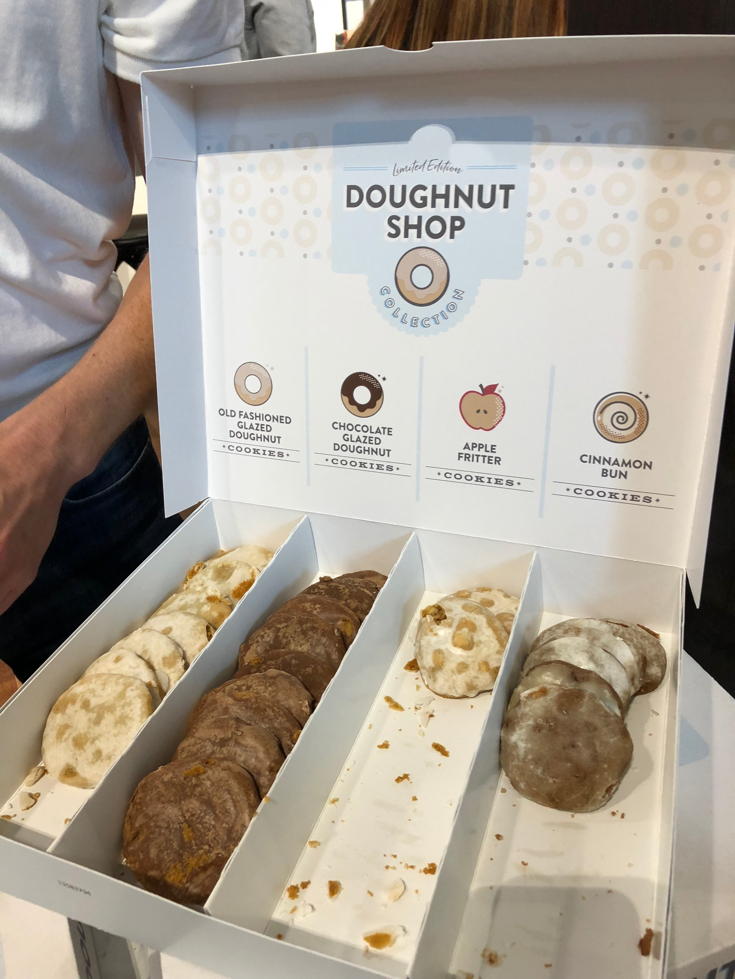 Doughnut Shop Cookie Collection from Dewey's