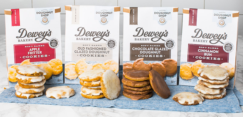 One of our Best of Show Tastes: Dewey's Bakery Soft Baked Doughnut Shop Cookie Line