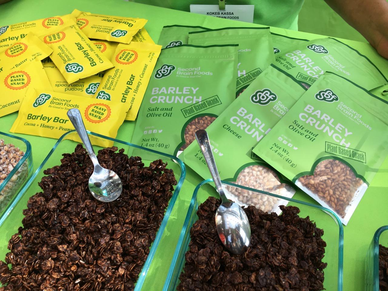 Second Brain Foods Barley Snacks