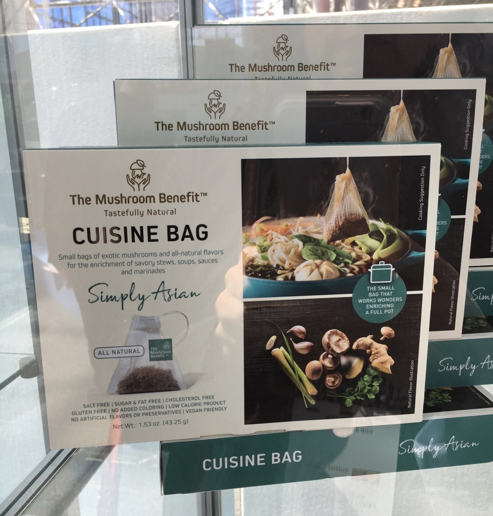 The Mushroom Benefit Cuisine Bag
