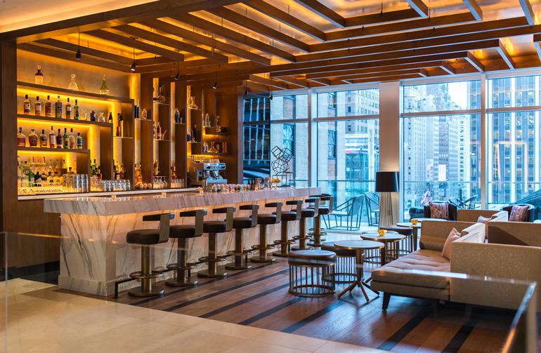 Thread Bar at the Renaissance New York Midtown hotel | Photos:Marriott International.