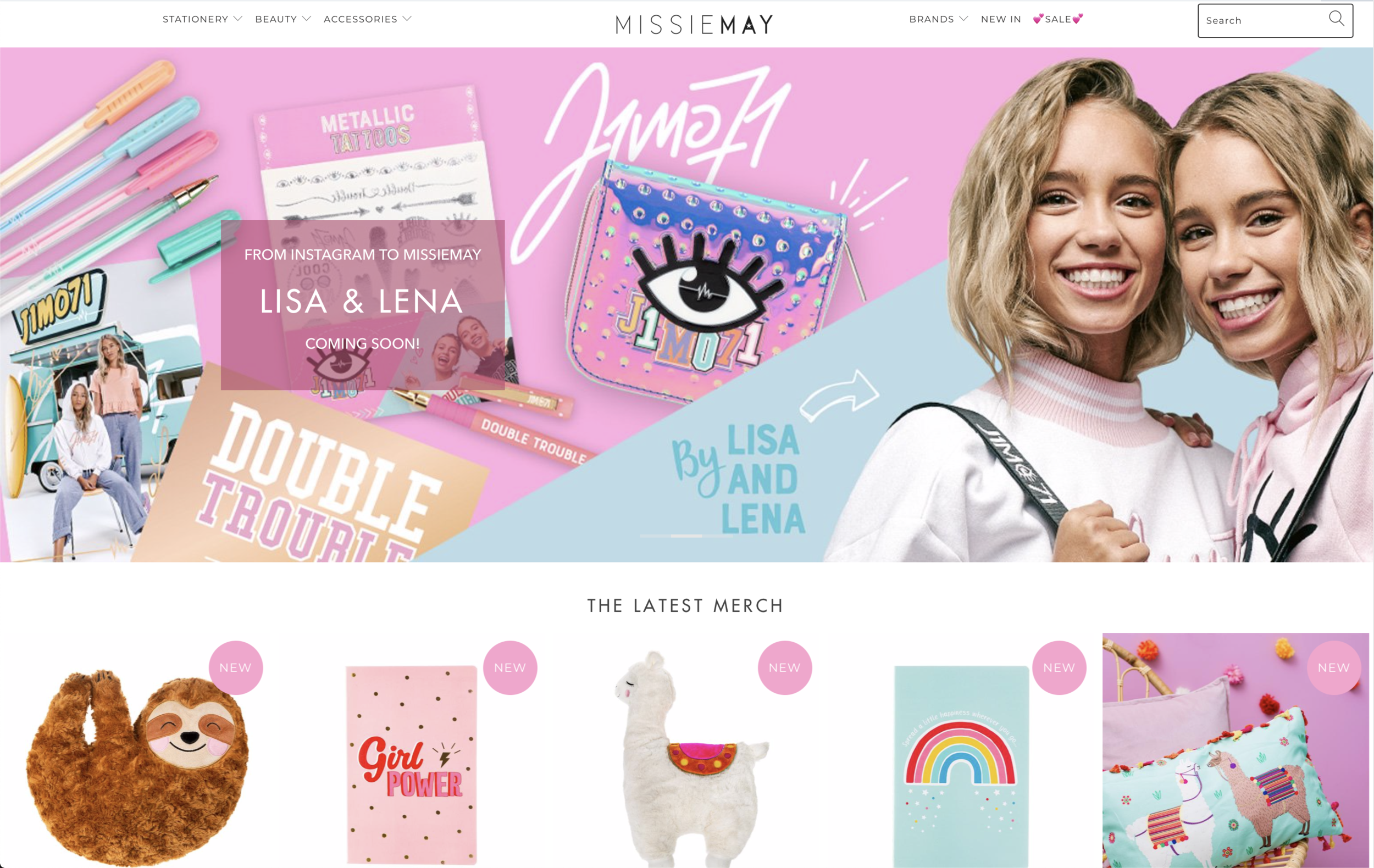 MissieMay - The one stop girls gift shopwww.missiemay.com