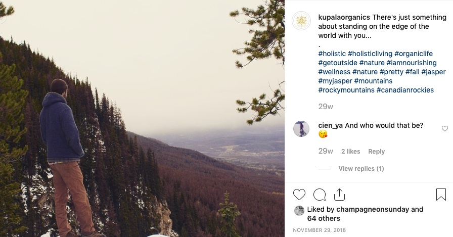 Kupala Organics Instagram
