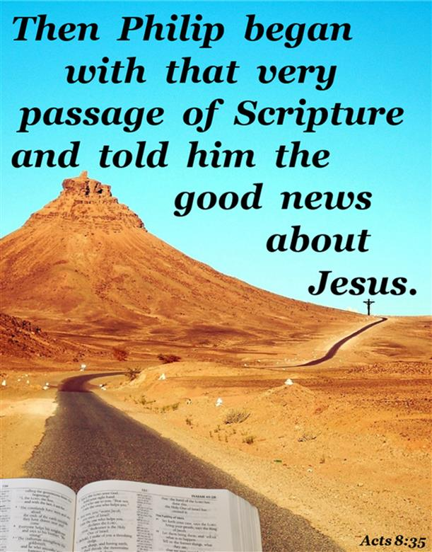Acts 8:35