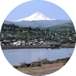 - the dalles