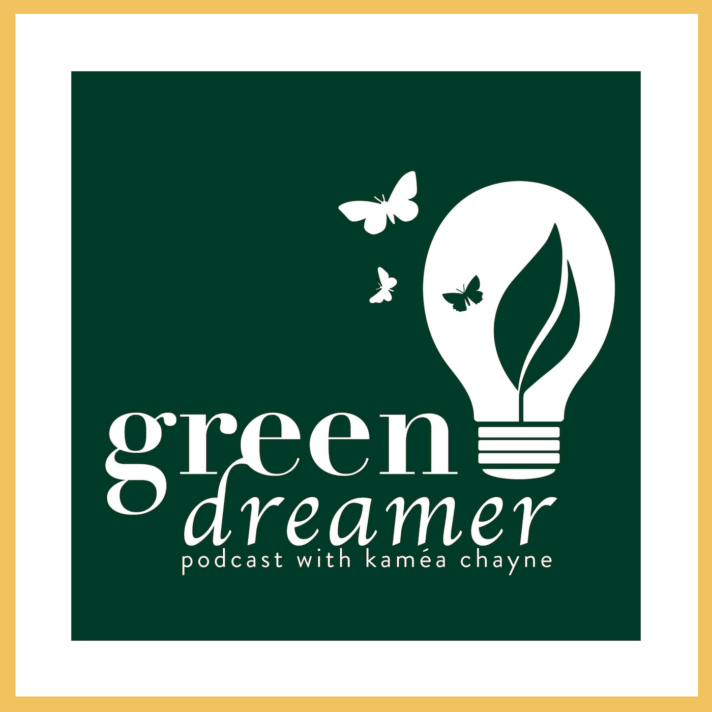 Green Dreamer Podcast logo
