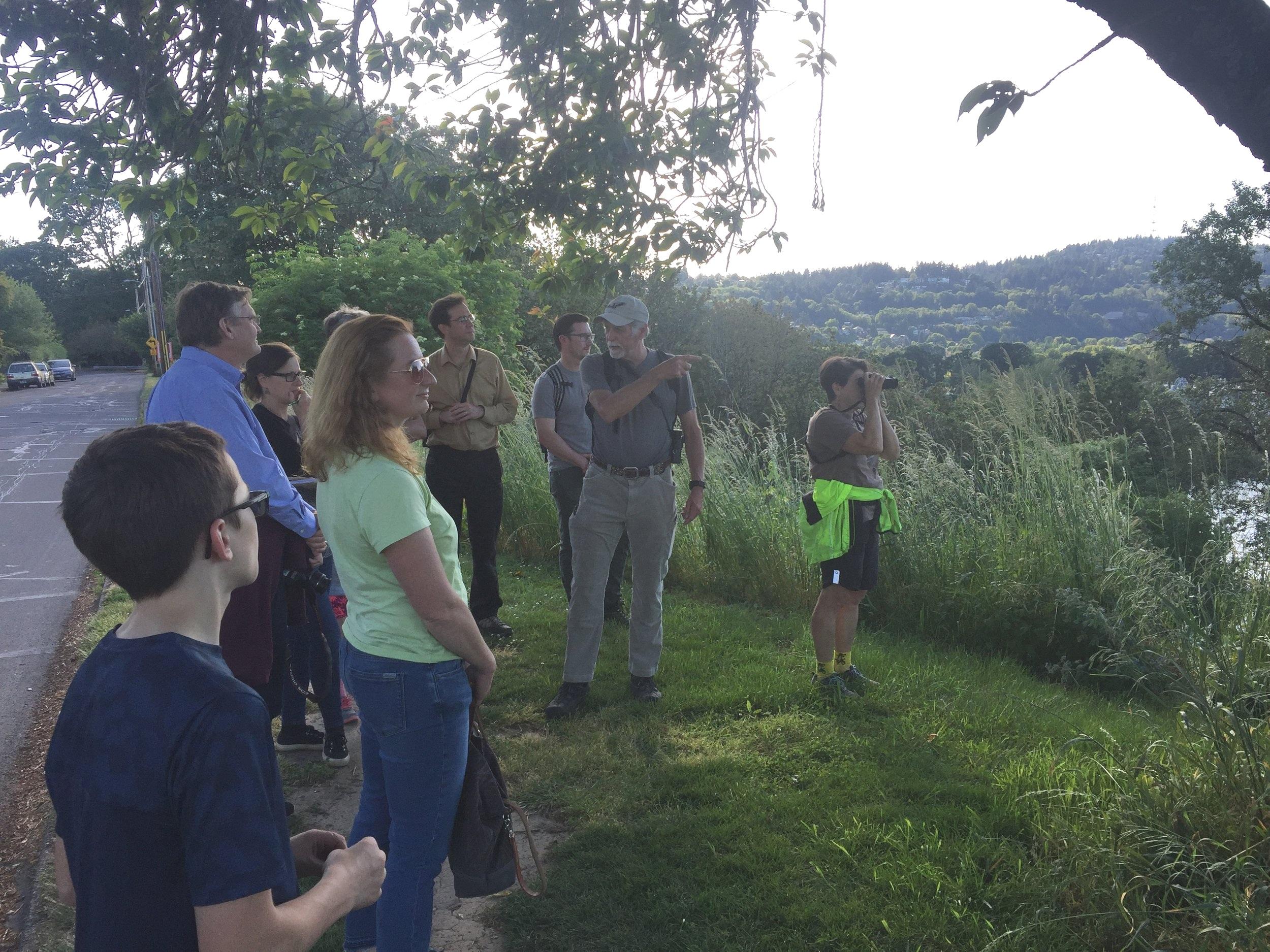 Mike Houck's inspiring story of the conservation of Oaks Bottom Wildlife Refuge.