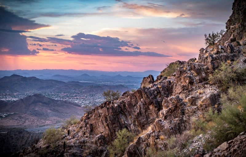 Phoenix Mountains Preserve. Image Credit: City of Phoenix Parks and Recreation.