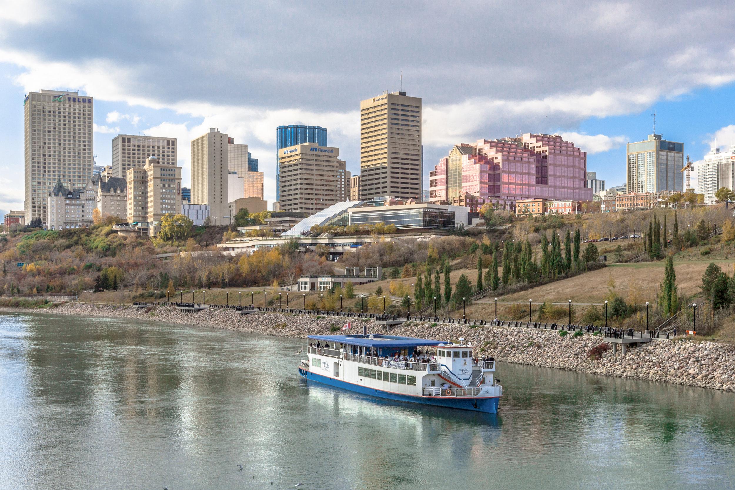 Edmonton River Valley by IQRemix