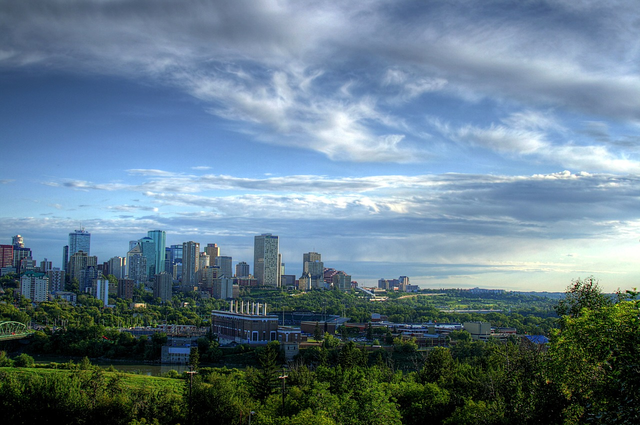 Edmonton Skyline.  Image Credit: Winter Force Media