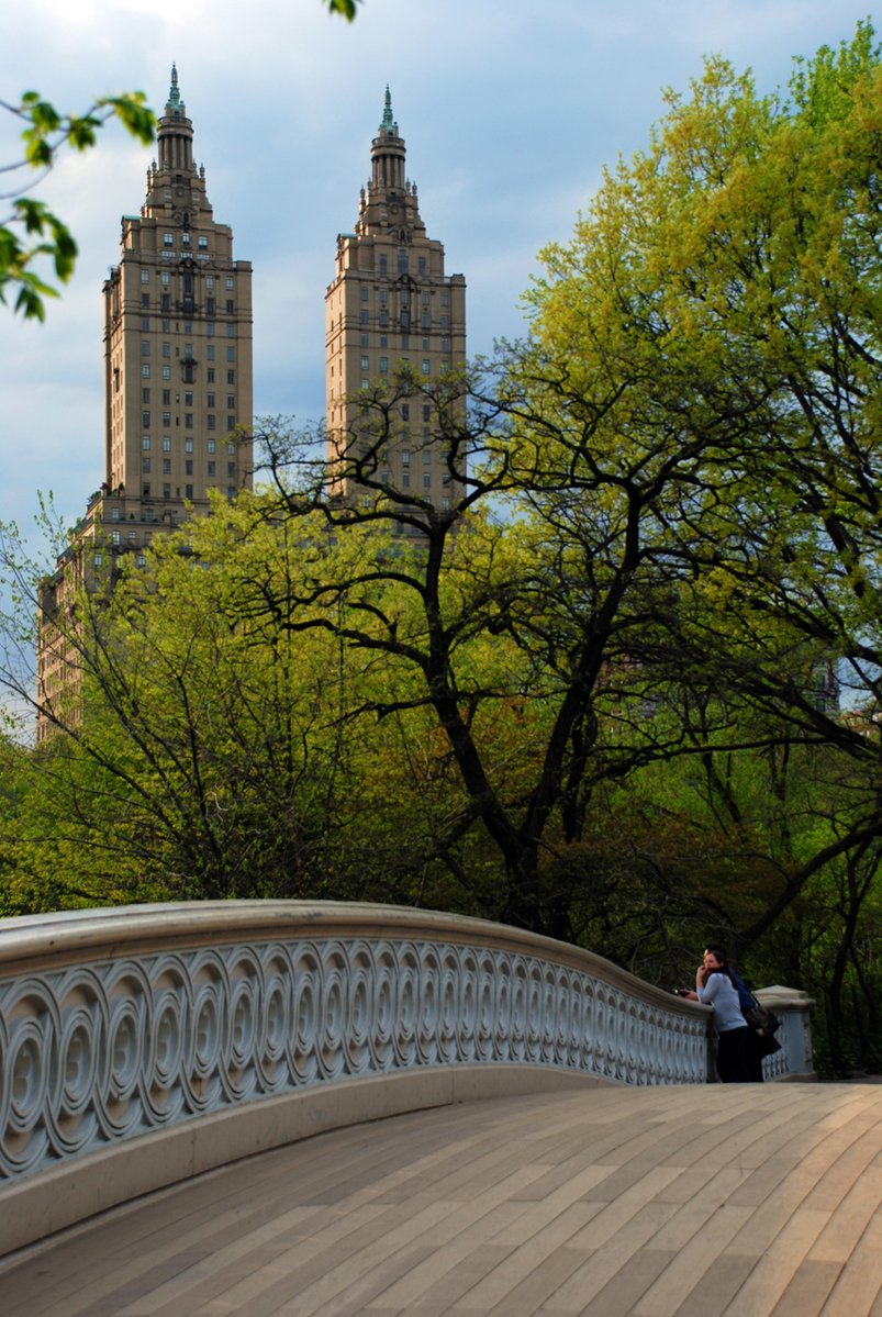 New York City's Central Park offers a respite from Manhattan, but isn't impervious to noise