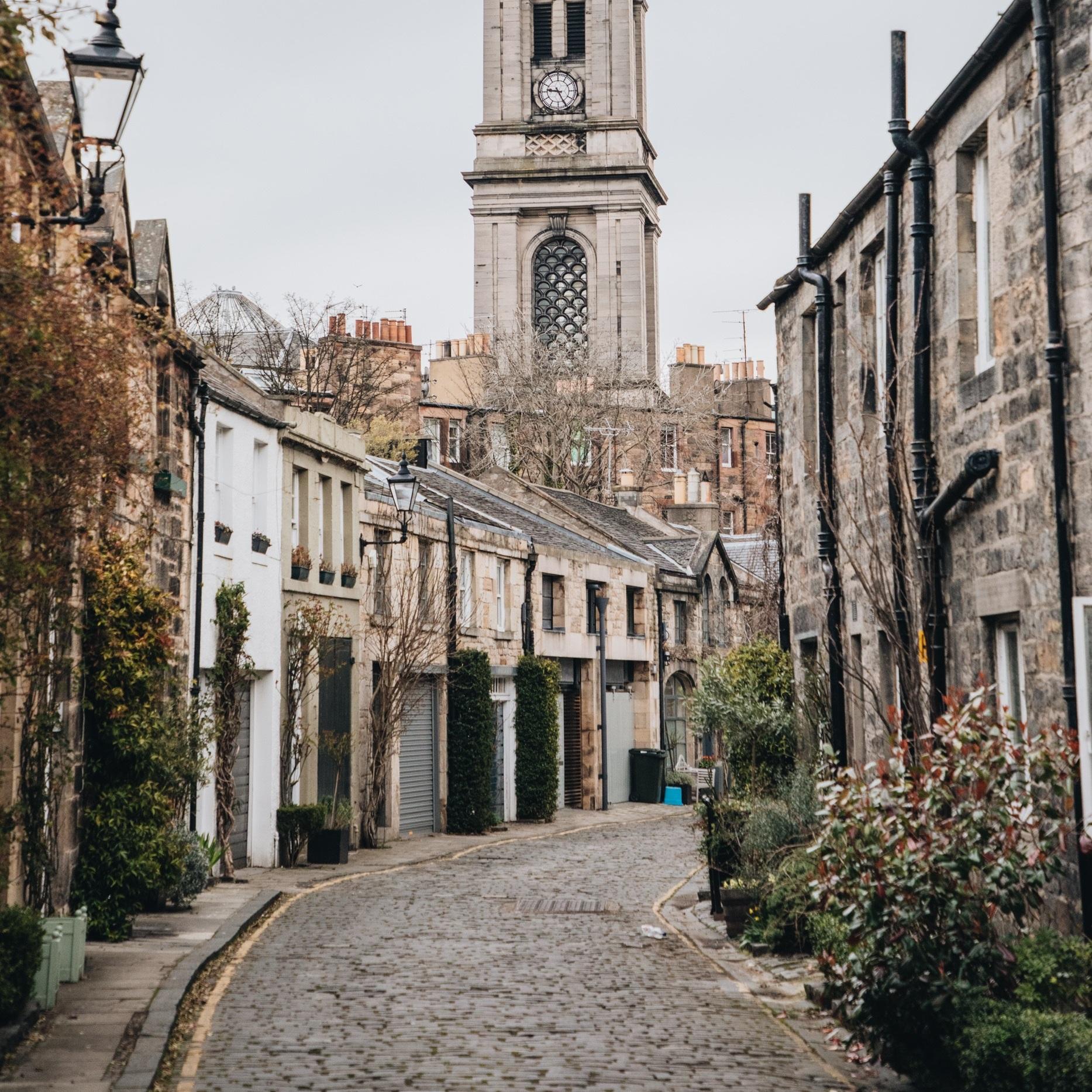 Edinburgh, Scotland(Living Landscapes) -