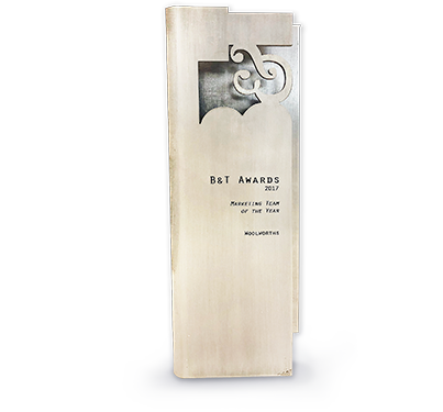 B&T Award Marketing Team of The Year 2017  B&T Awards Best Use of Sponsorship 2017 - Shortlist  Comm Games 'Grown for Gold'   B&T People & Culture Award 2018 - Shortlist