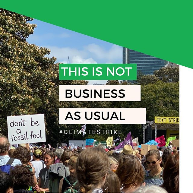 Immensely impressed by the passion, dedication and creativity demonstrated by the future generation at today's #climatestrike rally in Sydney. We lend our voice because there's no planet B. 🌏🙌🏼