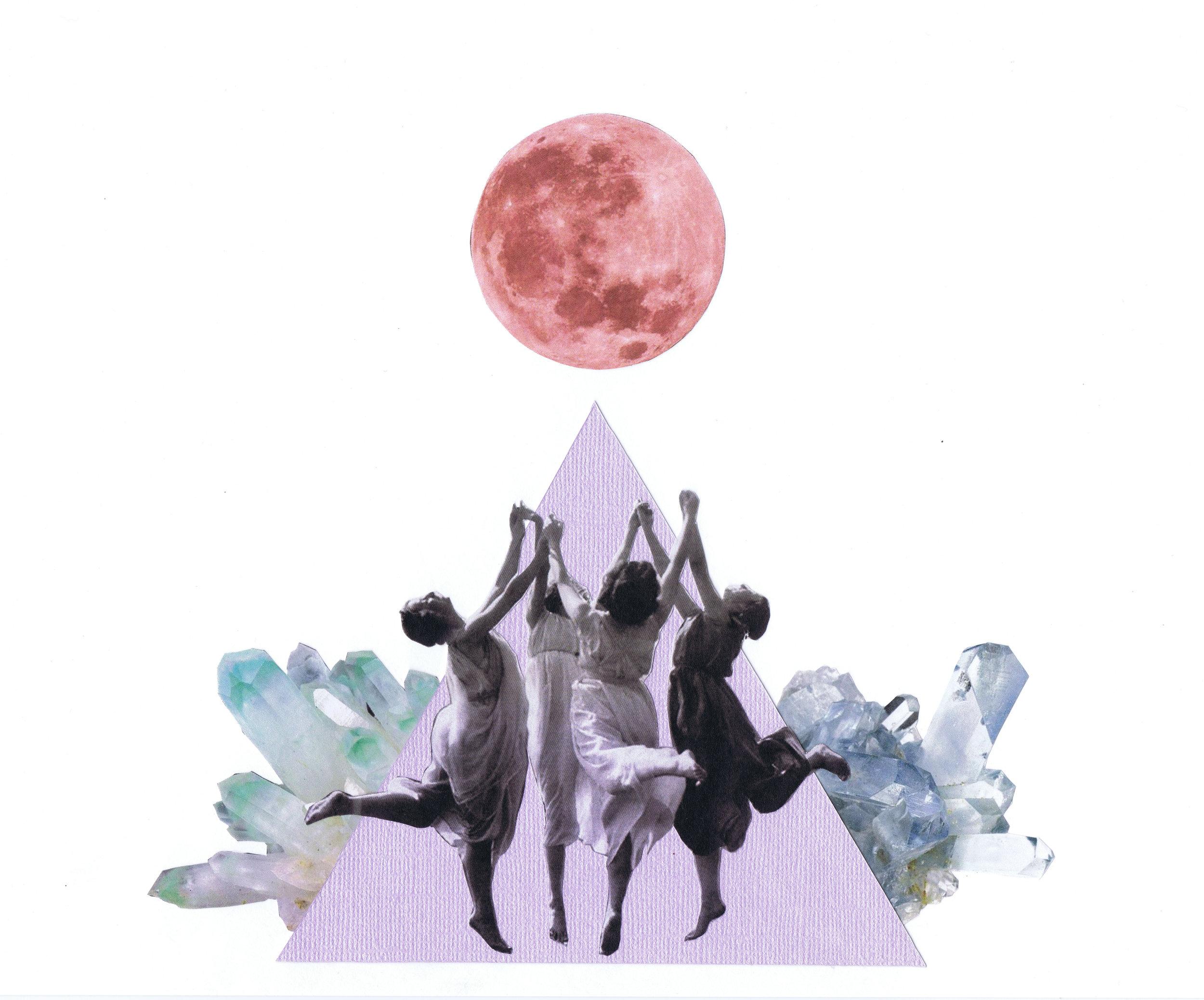 SACRED CIRCLES - Sacred space to evoke your inner goddess.