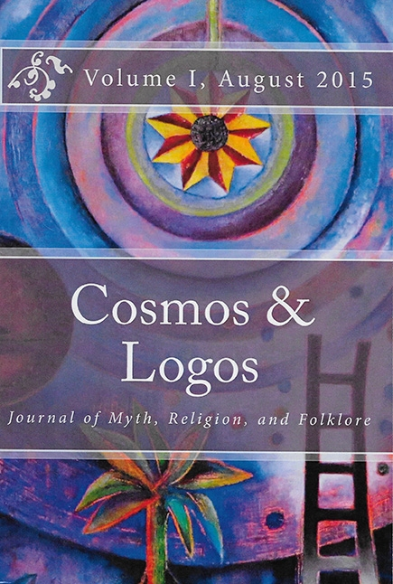 "Cosmos and Logos, Journal of Myth, Religion, and Folklore, Volume I, 2015    ""Soul Bird""  : cover art,  ""Anatomy of a Buddha an Buddha & Ganesh"" : art and articles published in this journal."