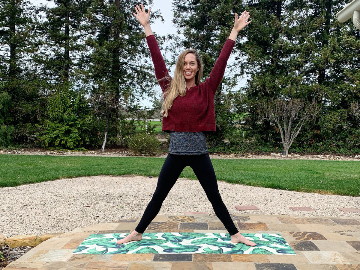Learn How To Do A Moon Salutation Chandra Namaskar Olde Oak Meadow Yoga Santa Ynez Infrared Heated Yoga Studio