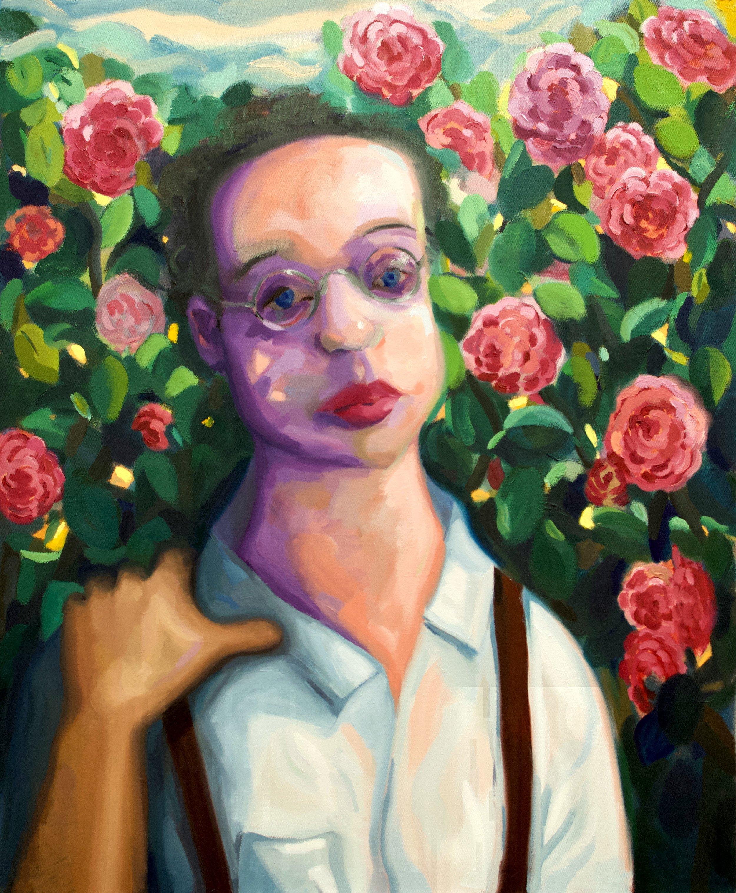"Alessandro    Oil on canvas  40"" x 33"""