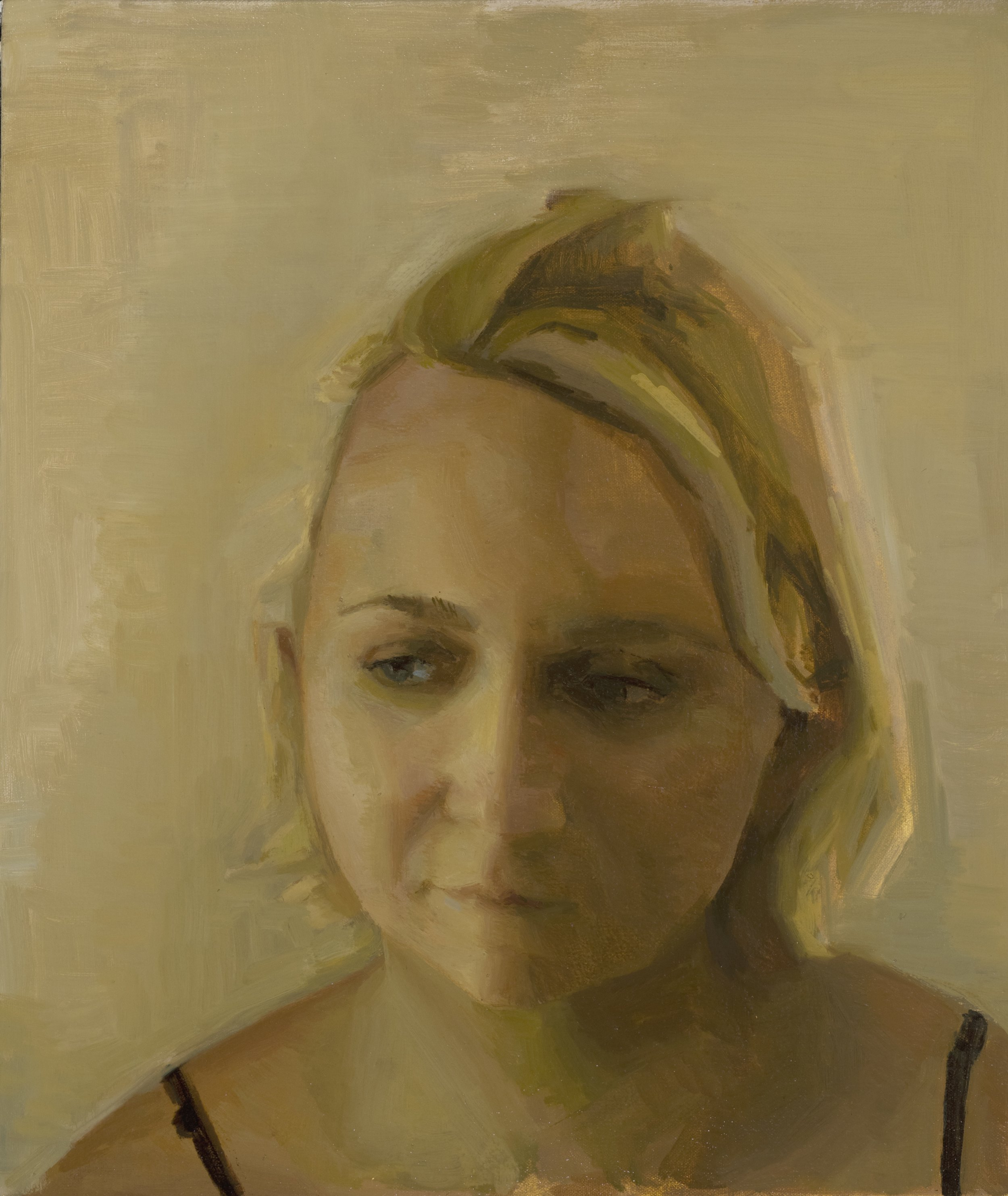 Chloe:Oil on Canvas, 17x20 in..jpg