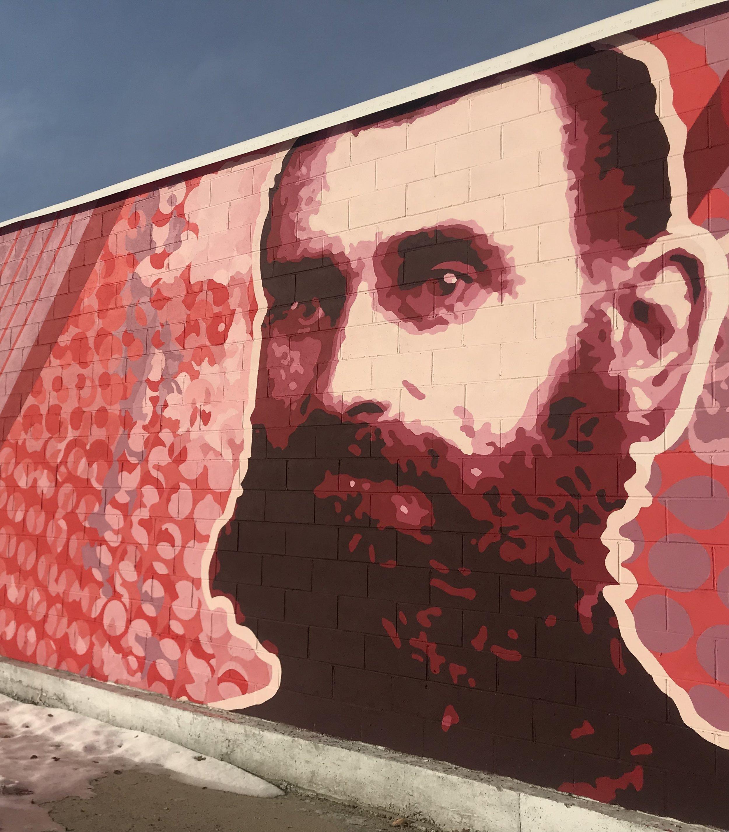 Iver Johnson Mural