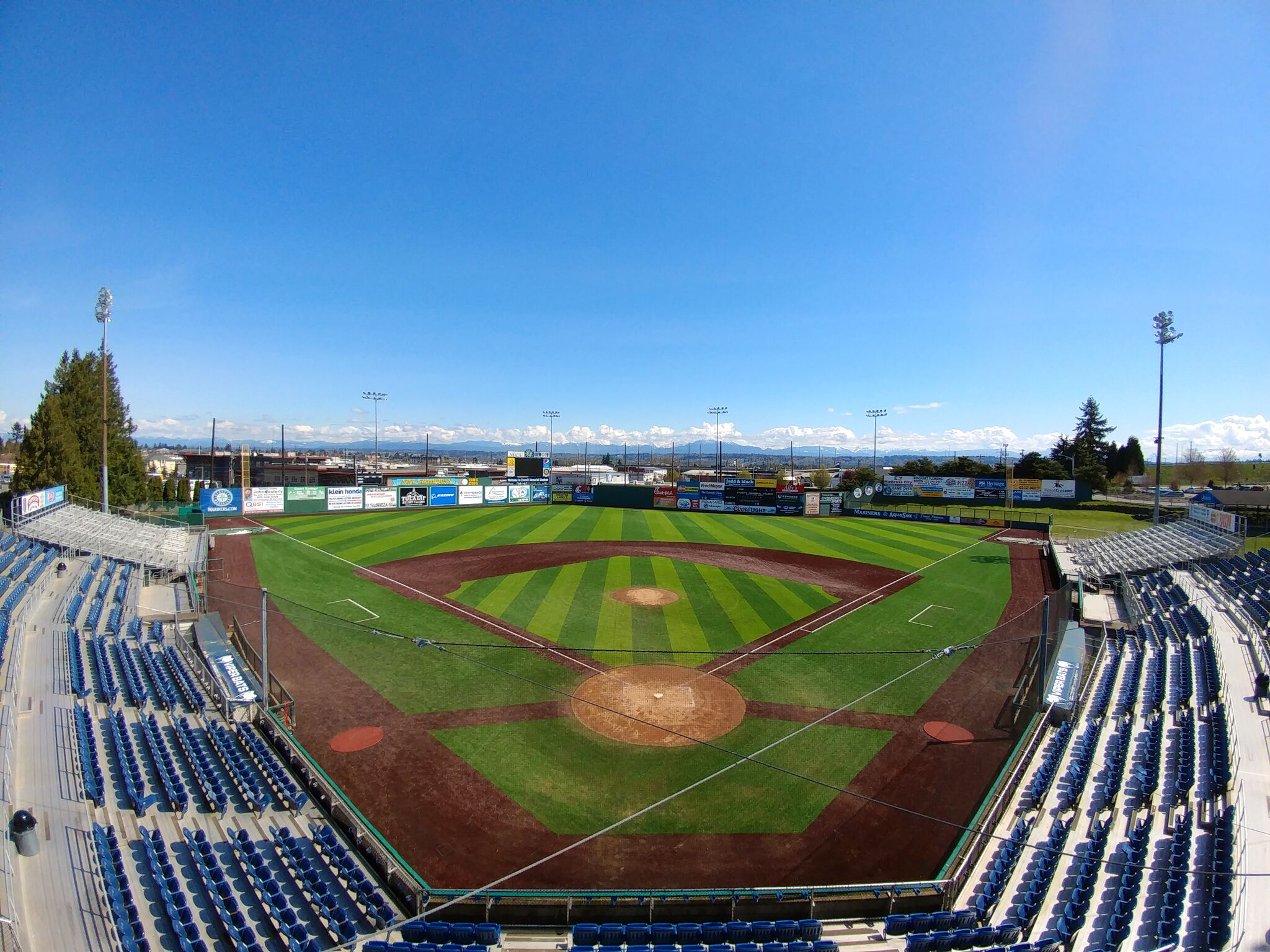 Everett Memorial Stadium // Everett AquaSox