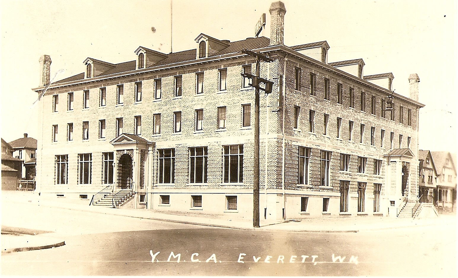 The exterior of the Everett YMCA