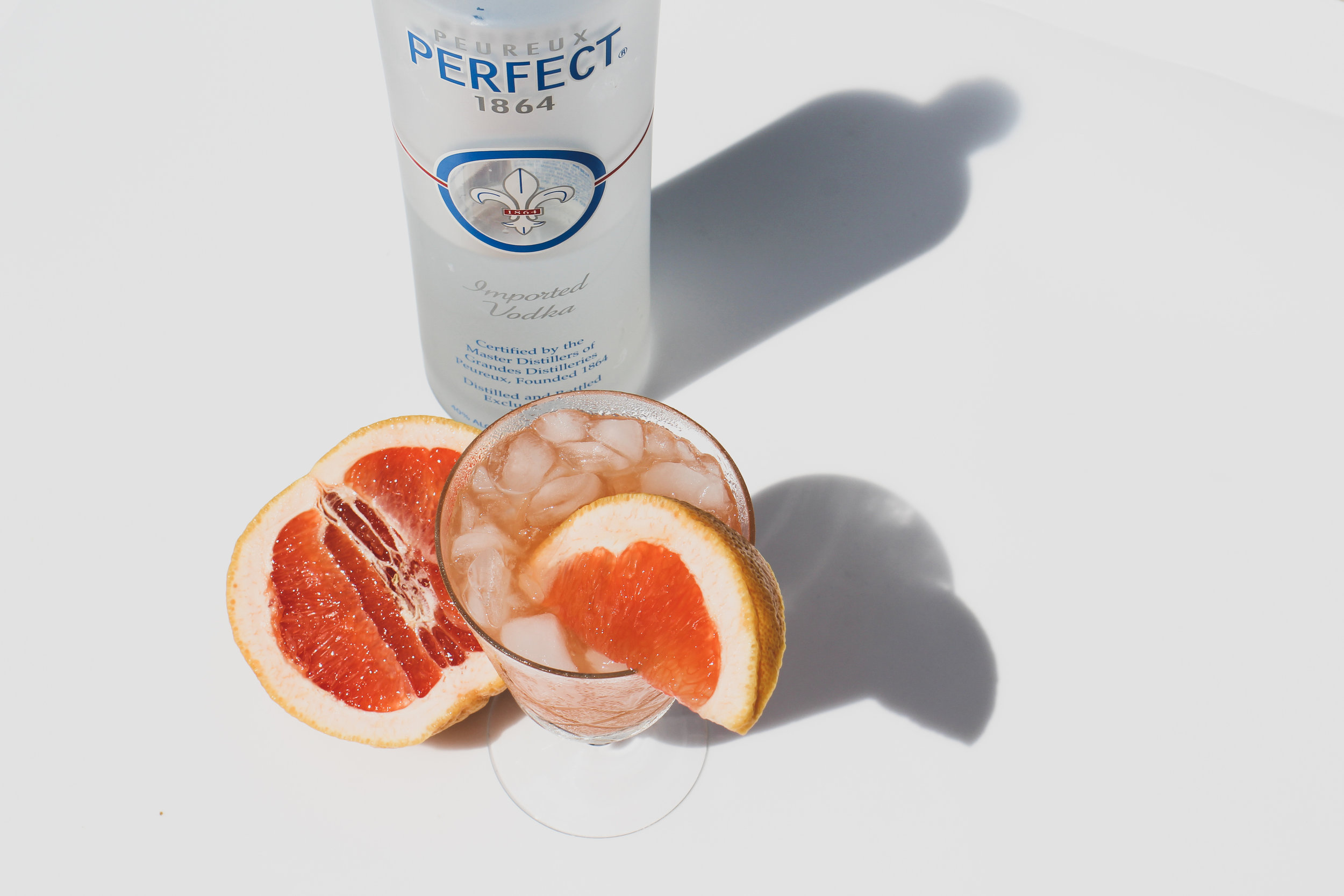 All bets are ON when grapefruit and vodka collide.