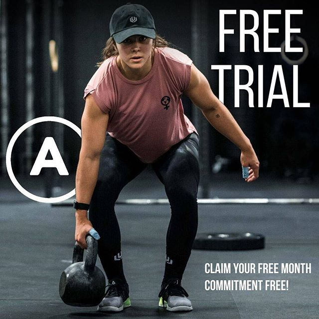 FREE FIRST MONTH.  Commitment free, cancel anytime.  We want to help as many athletes as possible get stronger, and prevent injury - which is why we are now offering a free trial!  No excuses, sign up today via the link in our bio.