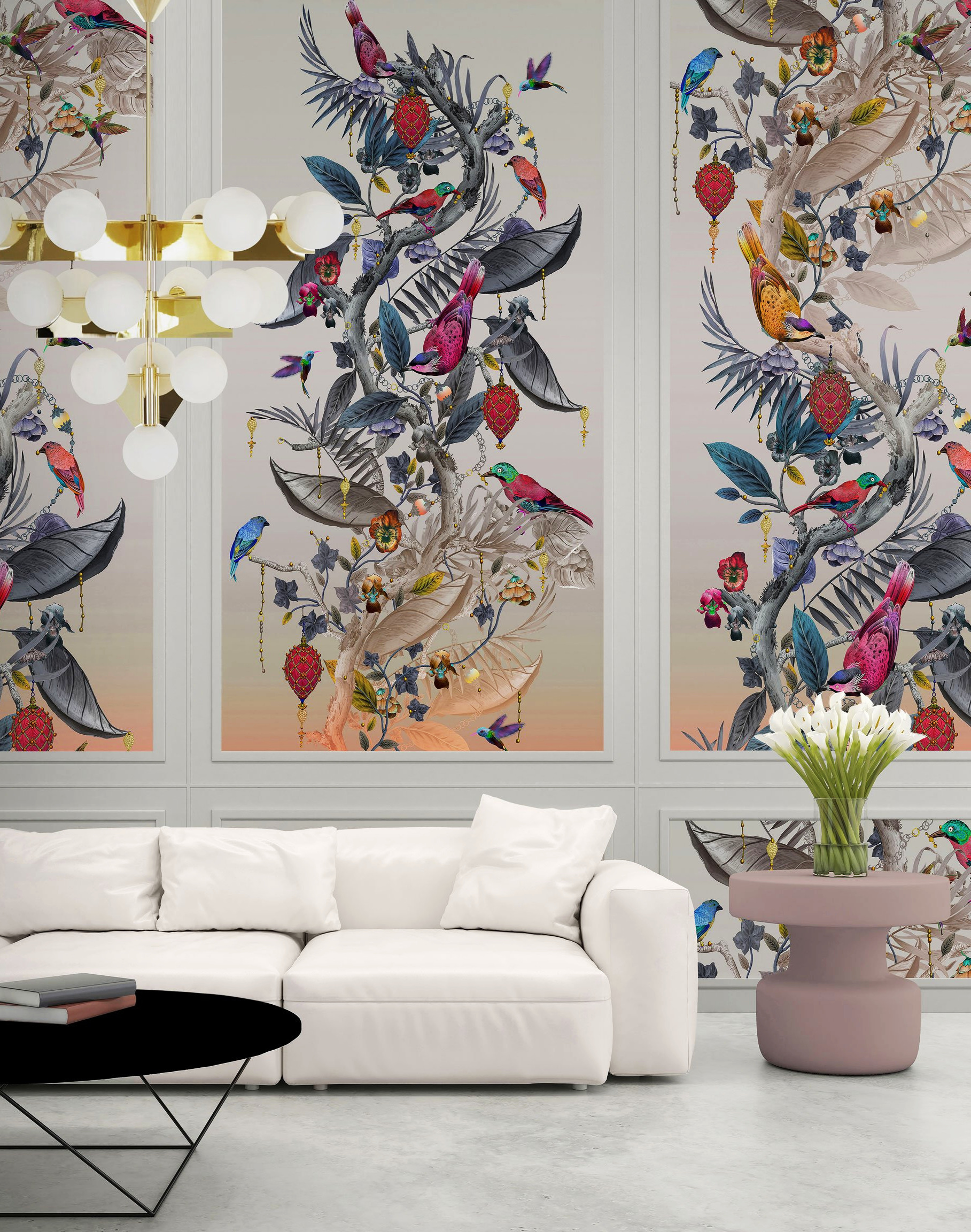 """Ecclesiastical Botanica"" wallpaper"