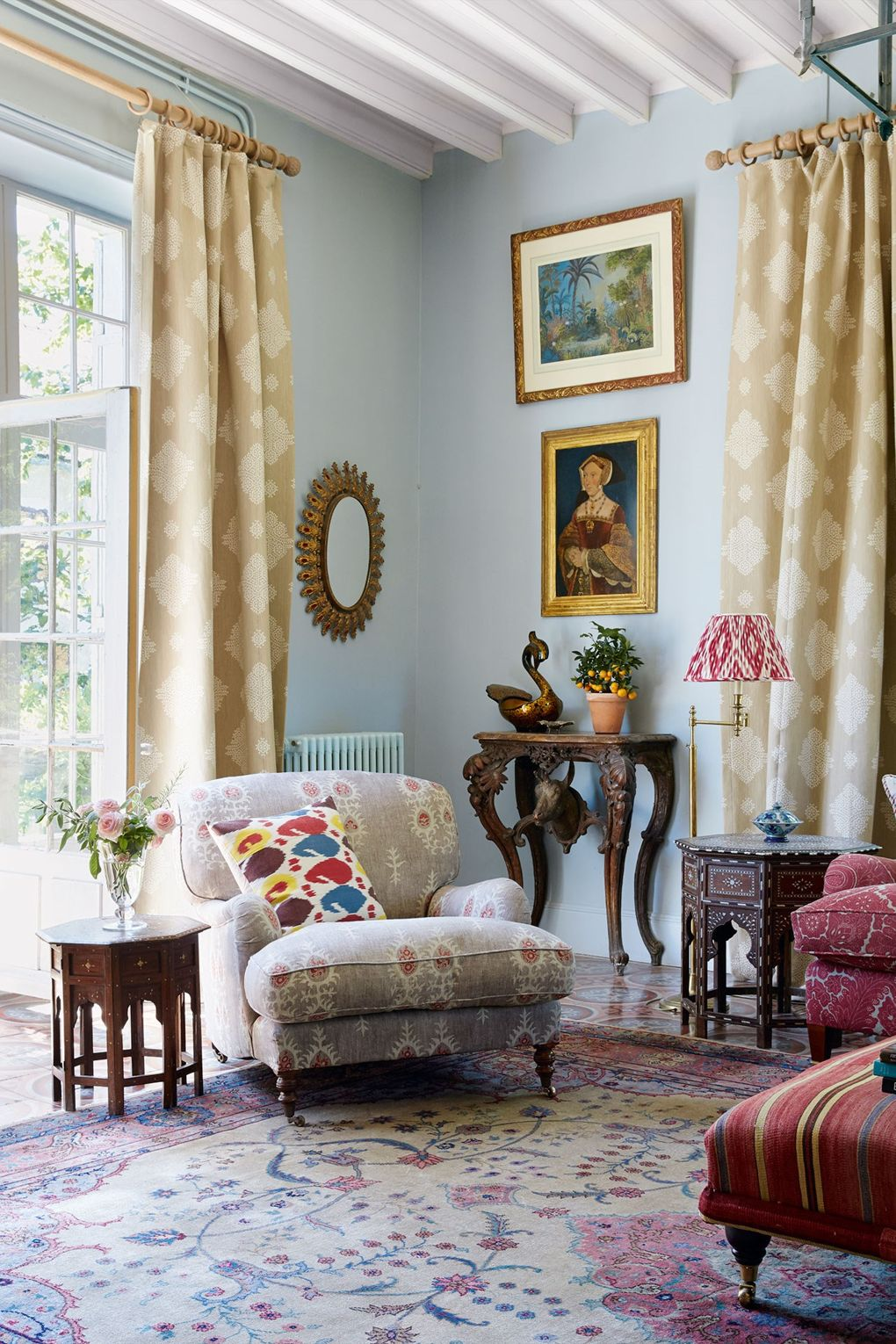 """Susan's French Country home featured in """"House and Garden U.K."""""""