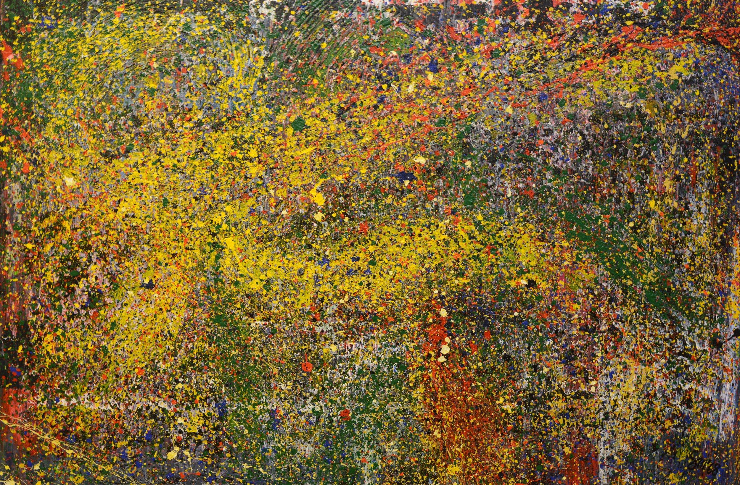 Galaxy of Roy Lichtenstein Acryl auf Leinwand