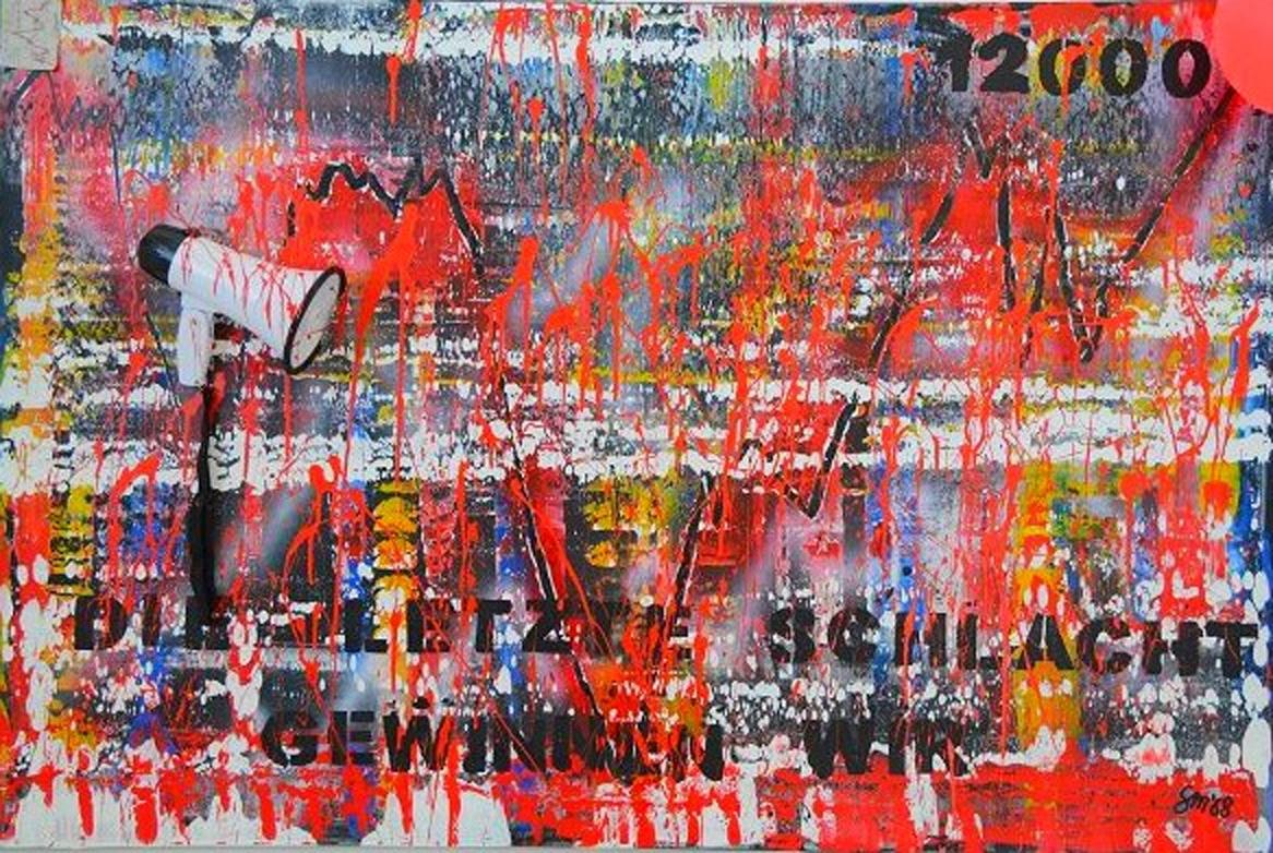 Hommage an Rio Reiser 2 | Acryl auf Leinwand