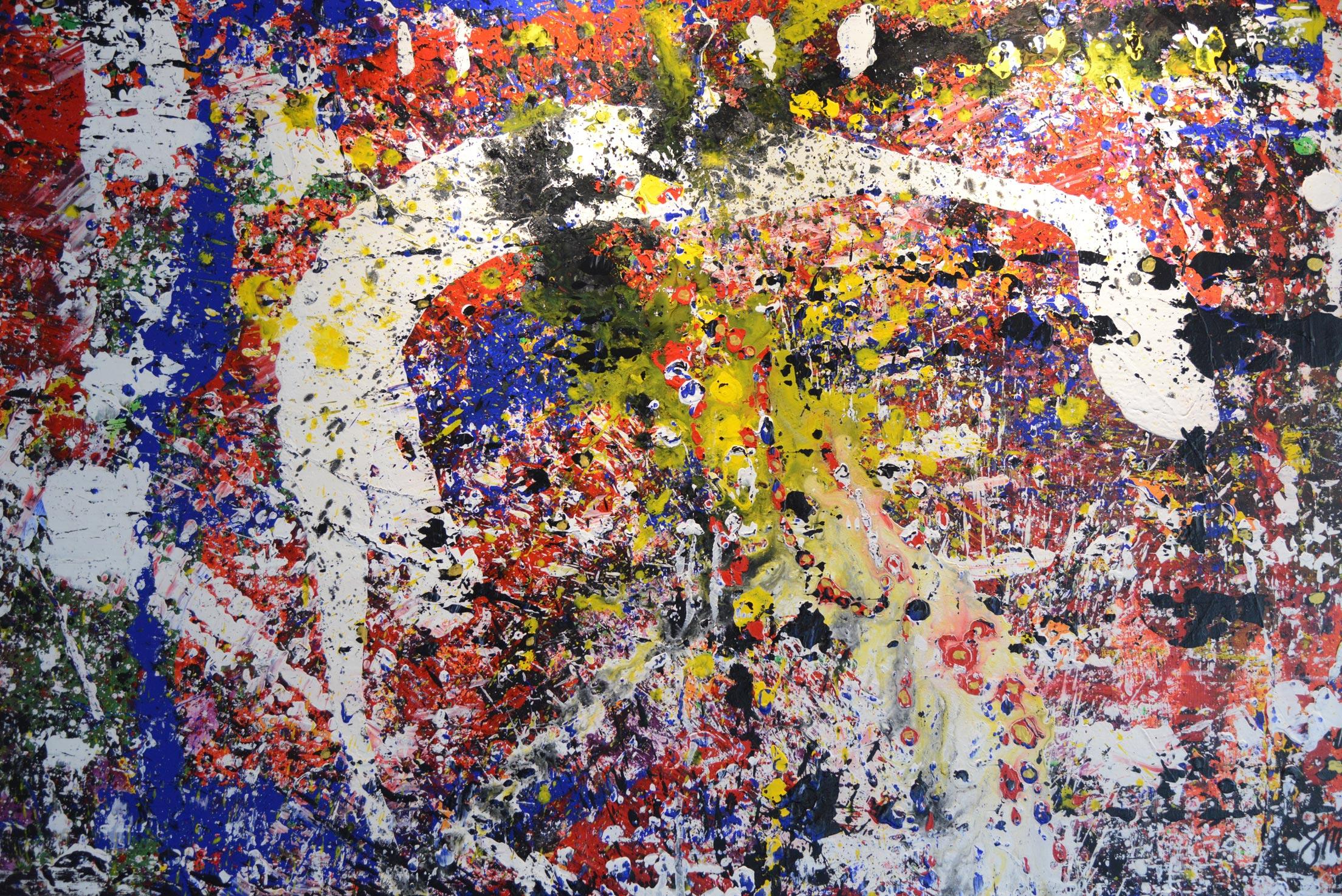 Knossos | Acryl auf Leinwand