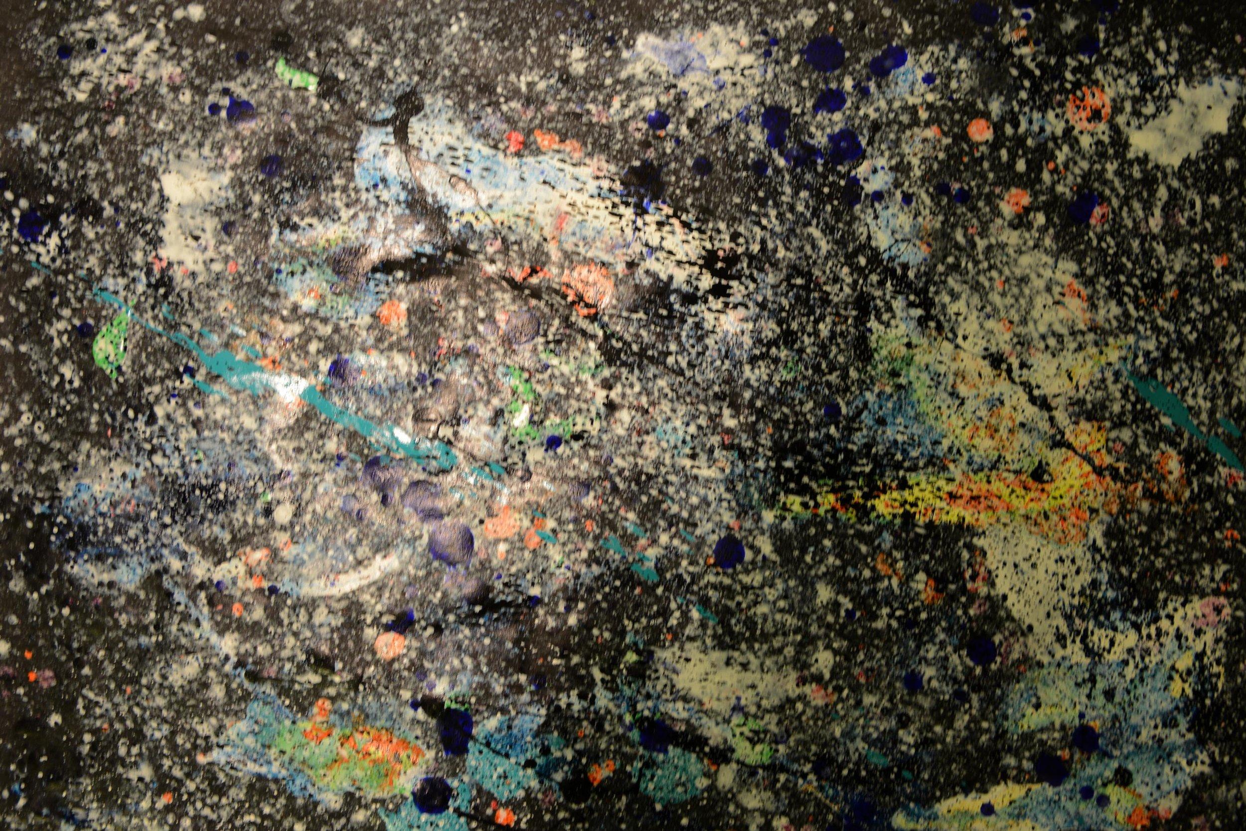 Kosmos 2 | Acryl auf Papier