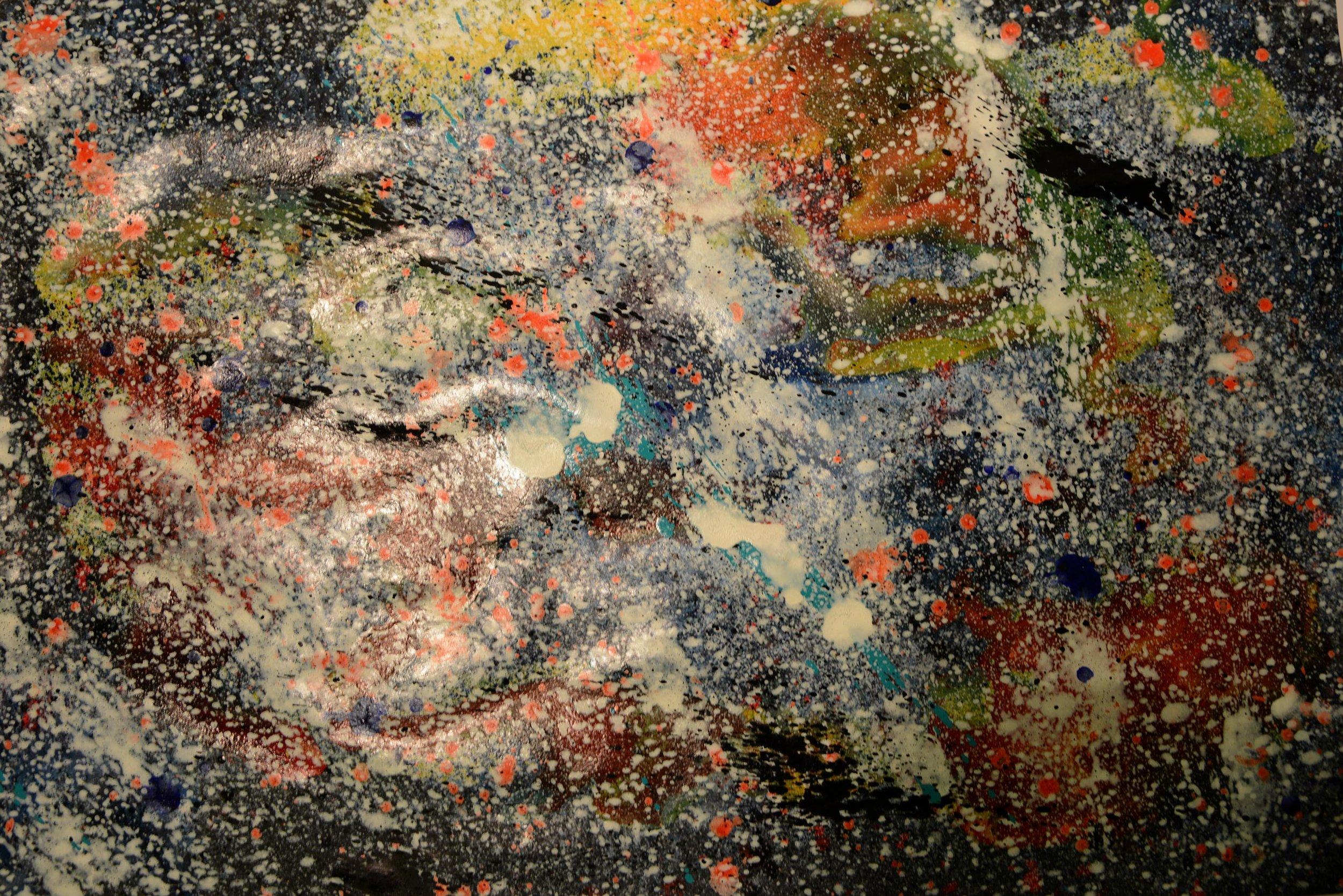 Kosmos 3 | Acryl auf Papier
