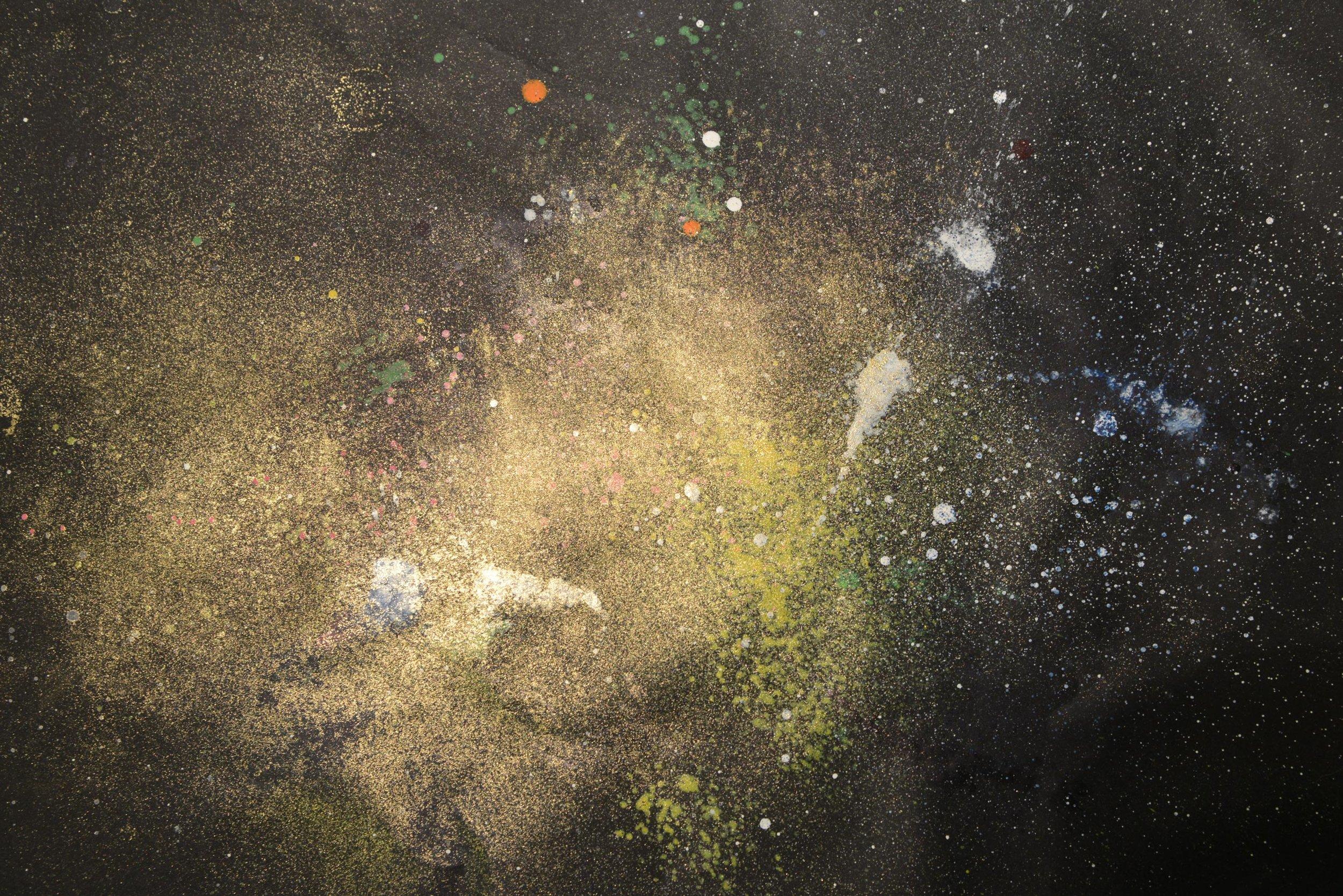 Kosmos 5 | Acryl auf Papier