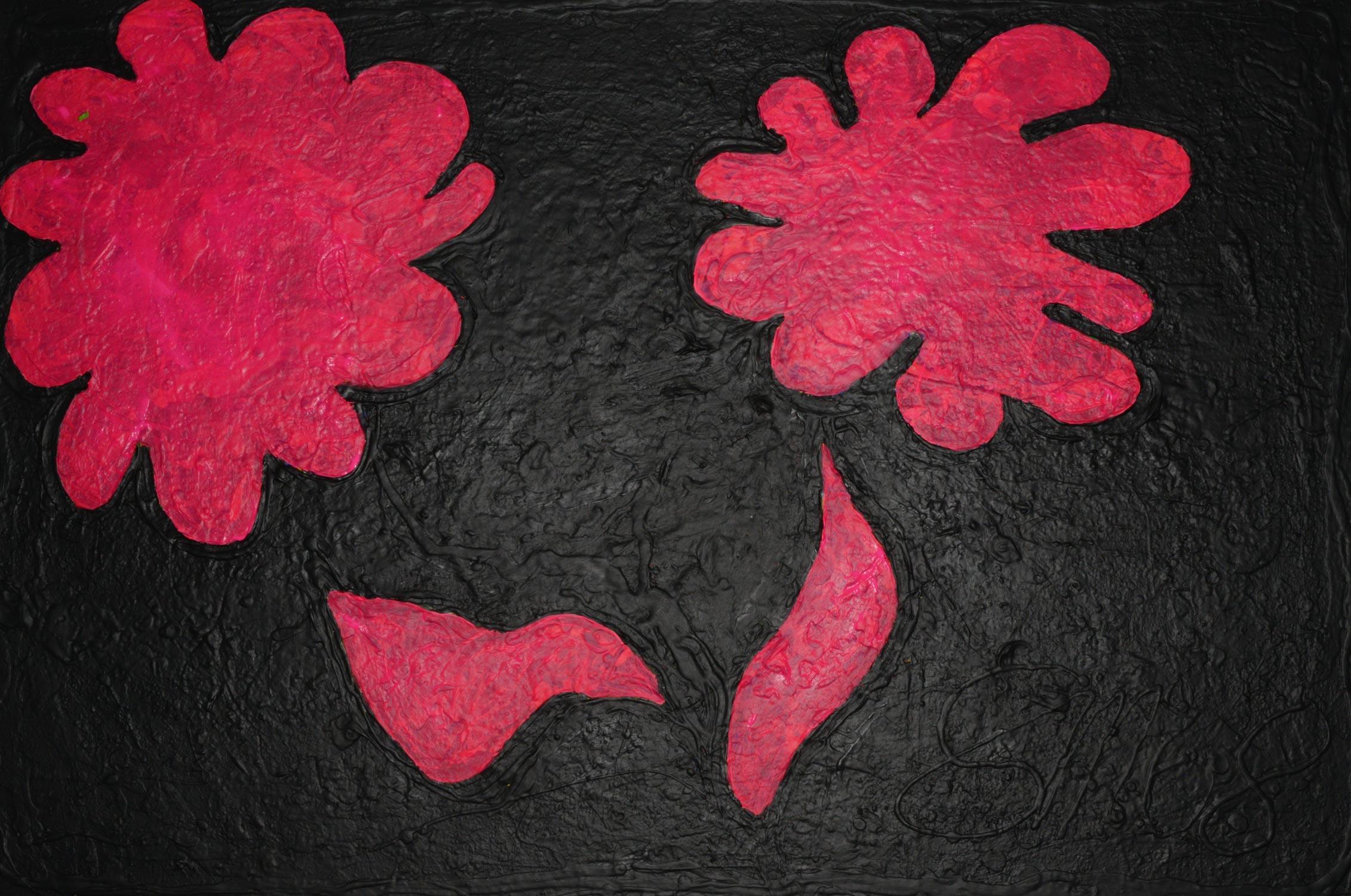 Sonnenblumen 1 | Acryl auf Leinwand