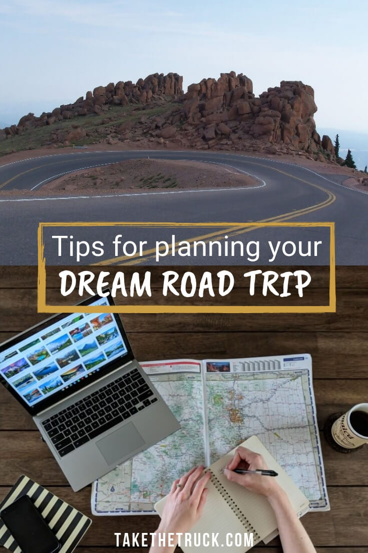 How to start planning your road trip.