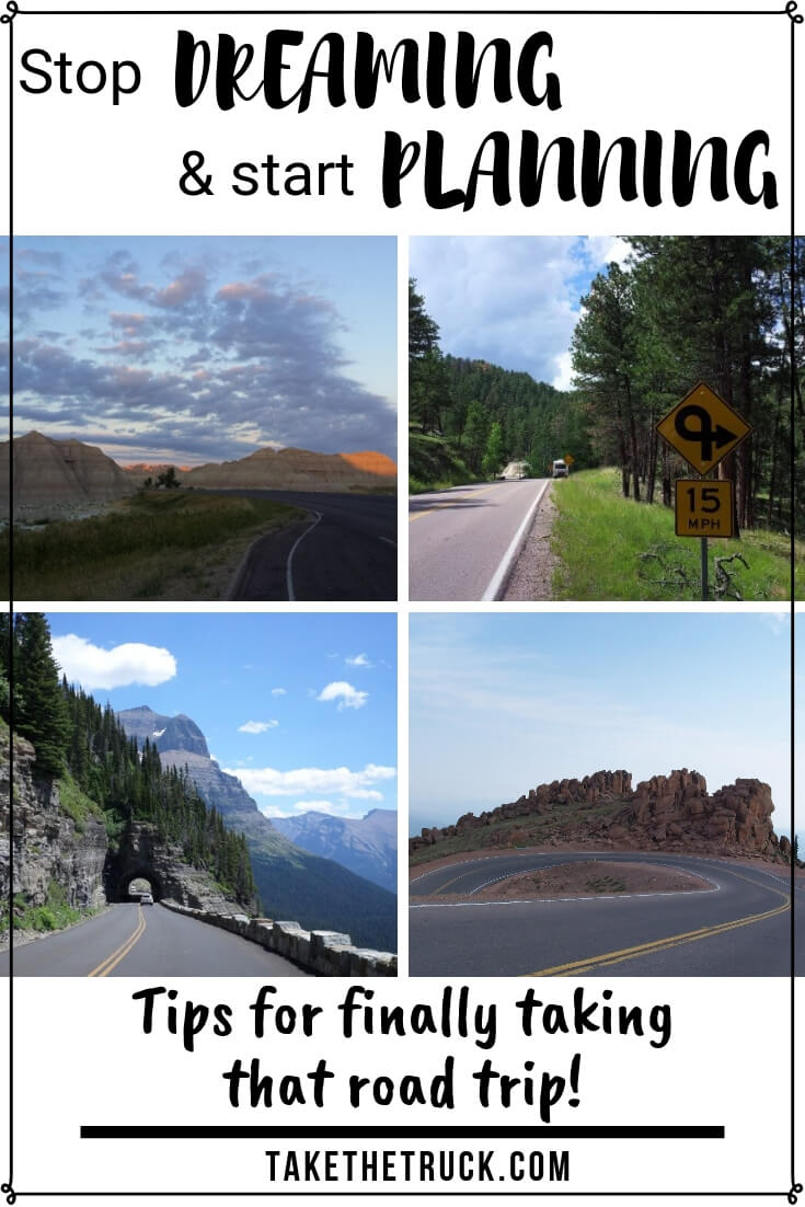 Tips and steps to create a road trip plan.