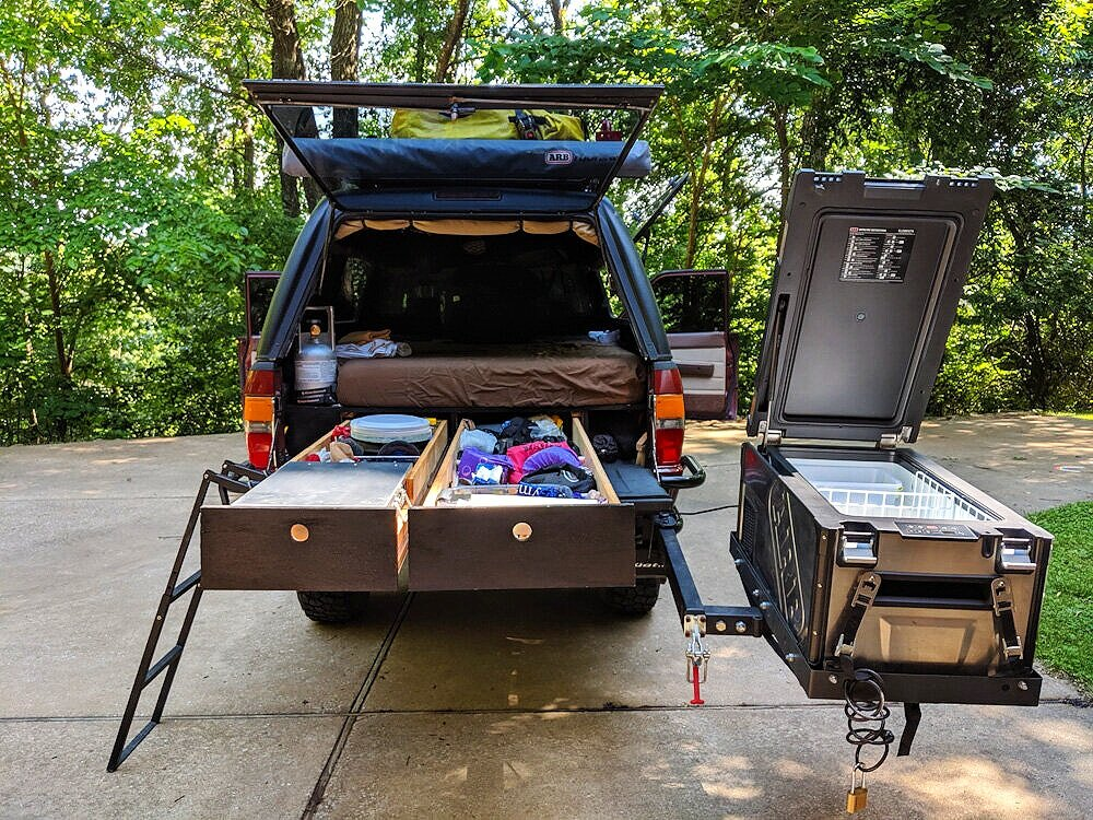 Truck S Camping How To Build The Ultimate Sleeping Platform