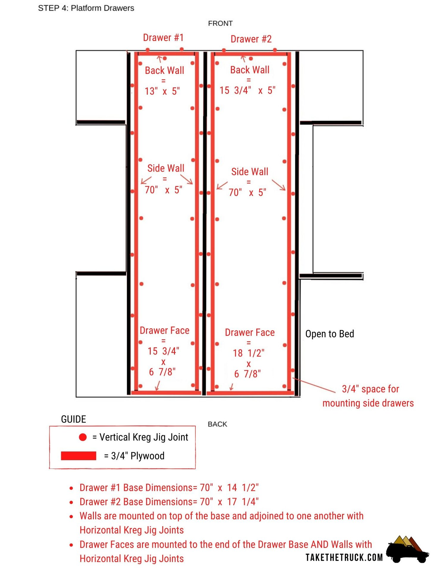 diagram of sleeping truck shell camping how to build the ultimate sleeping platform  truck shell camping how to build the