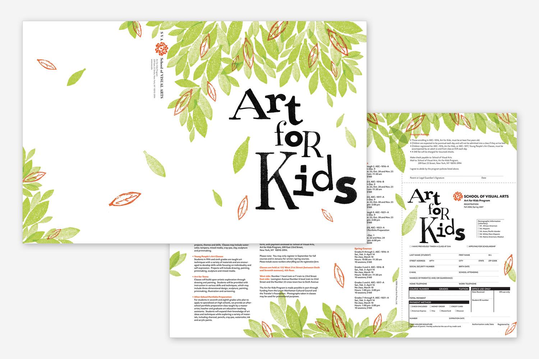 Art for Kids Brochure