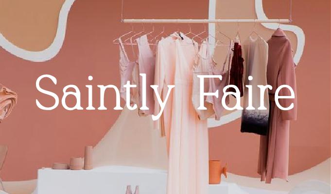 -   SAINTLY FAIRE Branding Kit